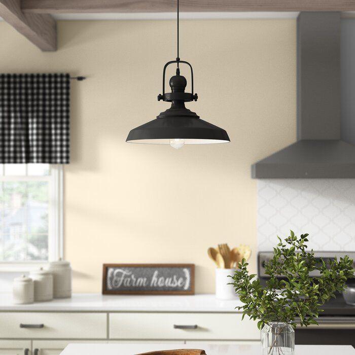 Laurel Foundry Modern Farmhouse Estelle 1 Light Single Dome Pendant Reviews Wayfair In 2020 Vanity Lighting Light Pendant Light