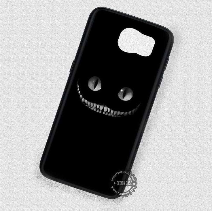 White Teeth Kitty Wonderland - Samsung Galaxy S7 S6 S5 Note 7 Cases & Covers
