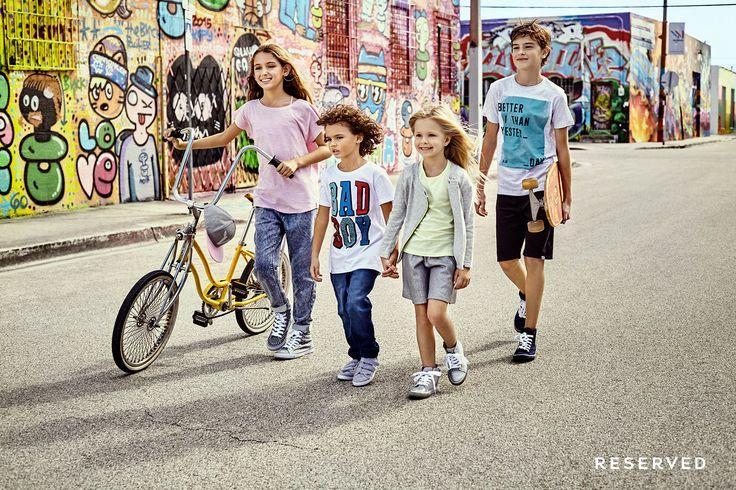 Reserved Kids SS16 #street#wear#bike#colorfull