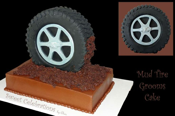 best 25 tire cake ideas on pinterest monster truck cakes monster truck party and blaze and. Black Bedroom Furniture Sets. Home Design Ideas