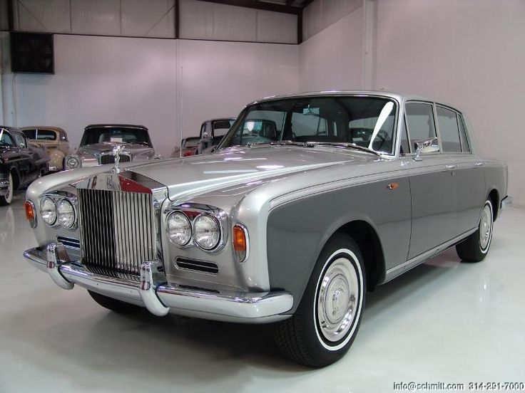 1966 ROLLS-ROYCE SILVER SHADOW JAMES YOUNG 2-DOOR SALON