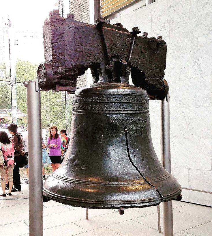 Liberty Bell - You can't get any more American than seeing the #LibertyBell on the 4th of July! #MyTravelLoop #Philadelphia #Pennsylvania #USA #DowntownPhiladelphia #Philly #DowntownPhilly #American #America #Liberty #Bell #Bells #Freedom #OneNation #United #UnitedStates #FourthOfJuly #Summer #July #Fourth #2014 #Celebration #Fireworks #Summoned #Citizens #FirstReading #DeclarationOfIndependence #Historical #History