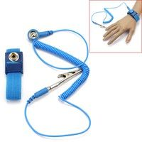 Description: 100% brand new and high quality Anti-Static discharge wrist strap protects you from s