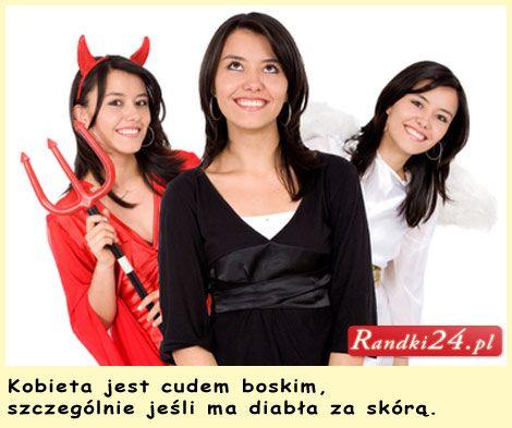 #Kobieta jest cudem boskim, szczególnie jeśli ma diabła za skórą... W dziale #humor :)
