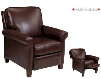 Recliner Chair All Leather Arm Height 26 Quot Seat Height 20
