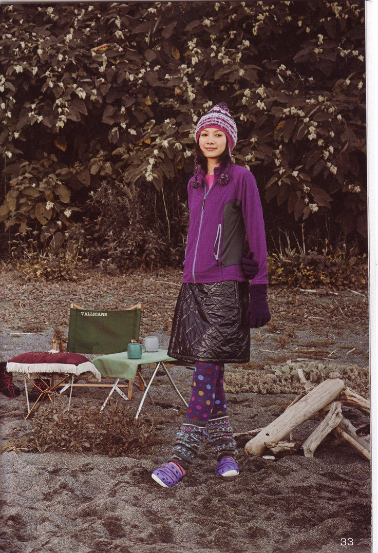 Yama girl! My prefered hiking wear for sure.