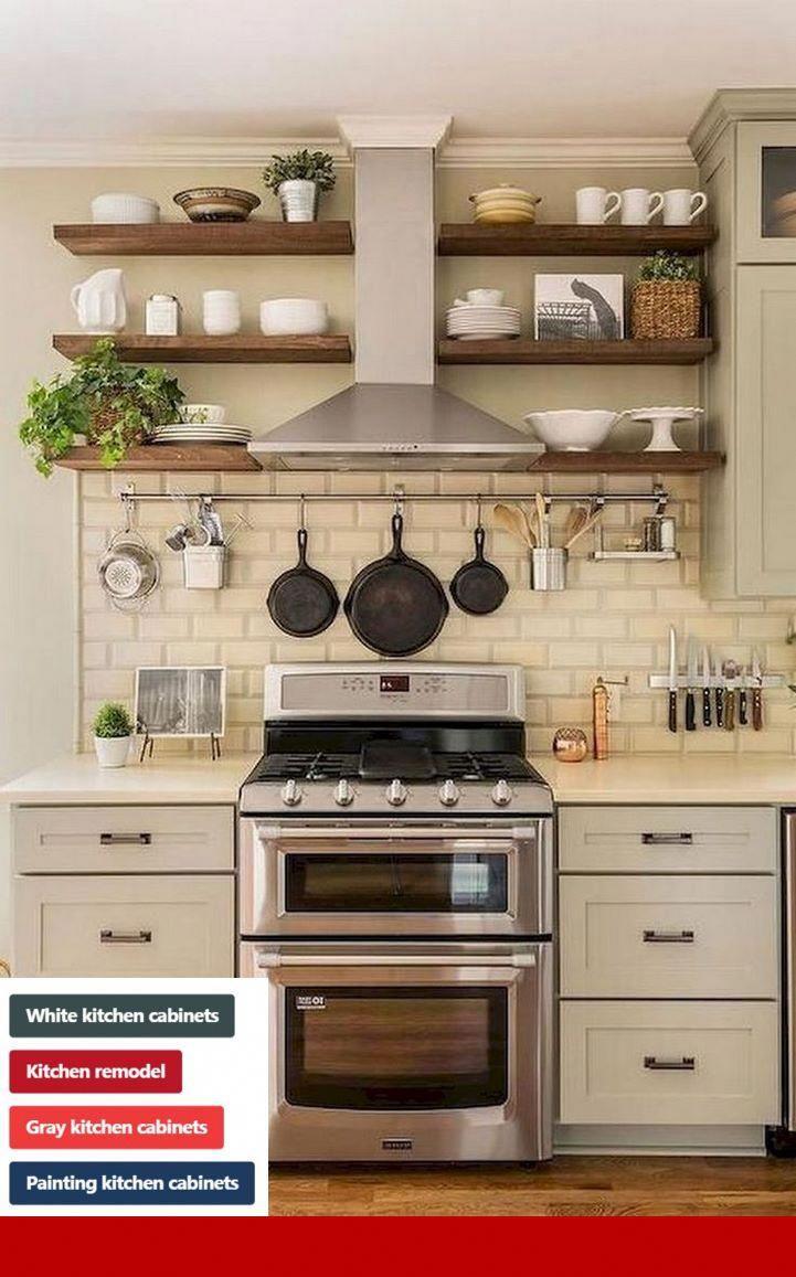 Kitchen Cabinet Refacing Vs Painting Cabinets And Kitcheninterior Small Farmhouse Kitchen Kitchen Remodel Small Kitchen Design Small