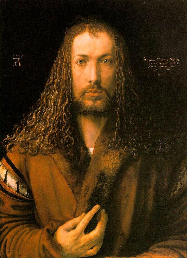Albrecht Durer self portraitRenaissance, The Artists, Albrecht Durer, 1500, Self Portraits, Albrecht Dürer, Art History, Artists Portraits, Painting