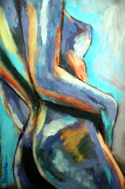 """Saatchi Online Artist: Helena Wierzbicki; Acrylic, 2012, Painting """"""""Shine"""""""""""