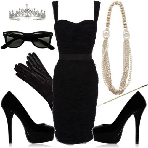 Audrey Hepburn Halloween Costume Better Little Black Dress And