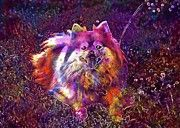 "New artwork for sale! - "" Dog Pomeranian Cute Grass Canine  by PixBreak Art "" - http://ift.tt/2uDdc4z"
