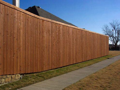 8 foot cedar stockade fencing - Google Search