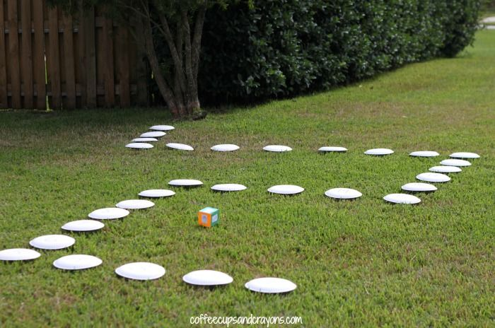 Create Your Own Life Size Board Game. For if I homeschool..