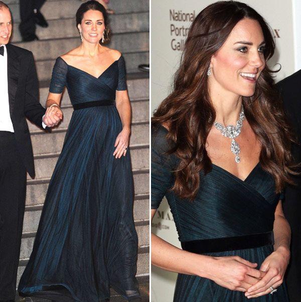 Os vestidos longos de Kate Middleton são incríveis e uma super inspiração para madrinhas e convidadas do casamento.