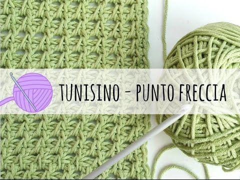 Uncinetto tunisino: come fare il punto freccia – Tutorial in italiano. | Cucito Creativo | Bloglovin'