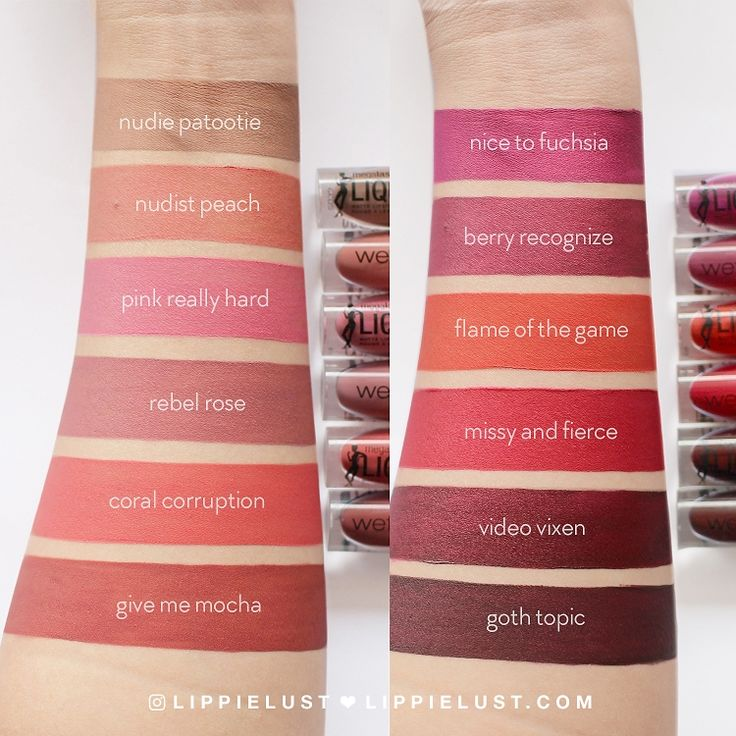 Image result for wet n wild catsuit liquid lipstick swatches