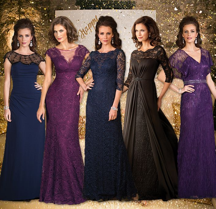 Our mother of the bride dresses are not just for weddings but can be special ordered for any special occasion event, including upscale holiday parties, charity events, or a formal New Year's Eve affair!