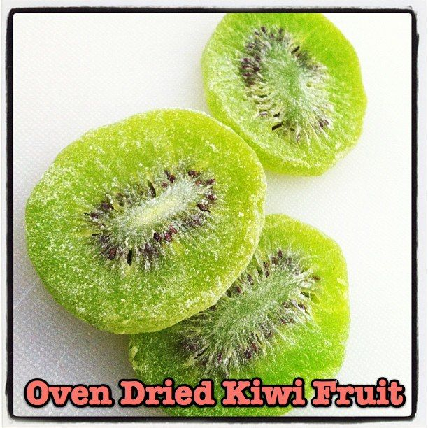 Oh. THAT Annelie...: Road Trip Recipe 1: Oven Dried Kiwi