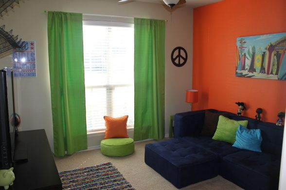 Kid Hang Out Room / Video Game Room, kid size sectional-walmart