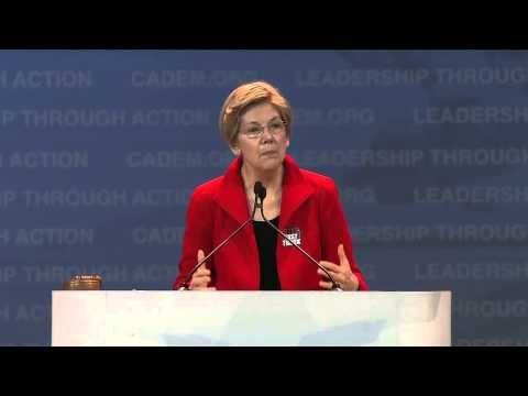 Addicting Info – Elizabeth Warren Issues Her Best Speech Yet, Blasts GOP Frontrunners For Attacking Middle Class America