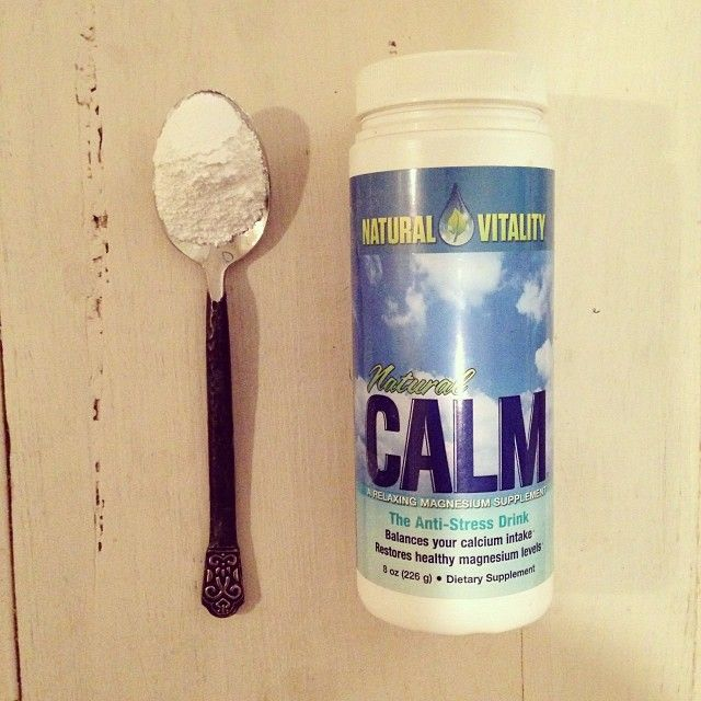 "Love this magnesium ""calm"" powder (#gluten free, #vegan, #non-Gmo) It's another remedy I have found that helps relax my tmj/teeth grinding, which reduces waking w tension headaches and helps to induce calm in general for sleeping. It also works great for restless legs syndrome during nighttime and other restless ailments that may keep you up. Magnesium helps to relax the nervous system in general and will ease Charlie horses and other cramps as well in muscles."