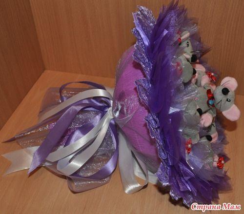 Новенькая с багажом :) - Букеты из мягких игрушек - Страна Мам