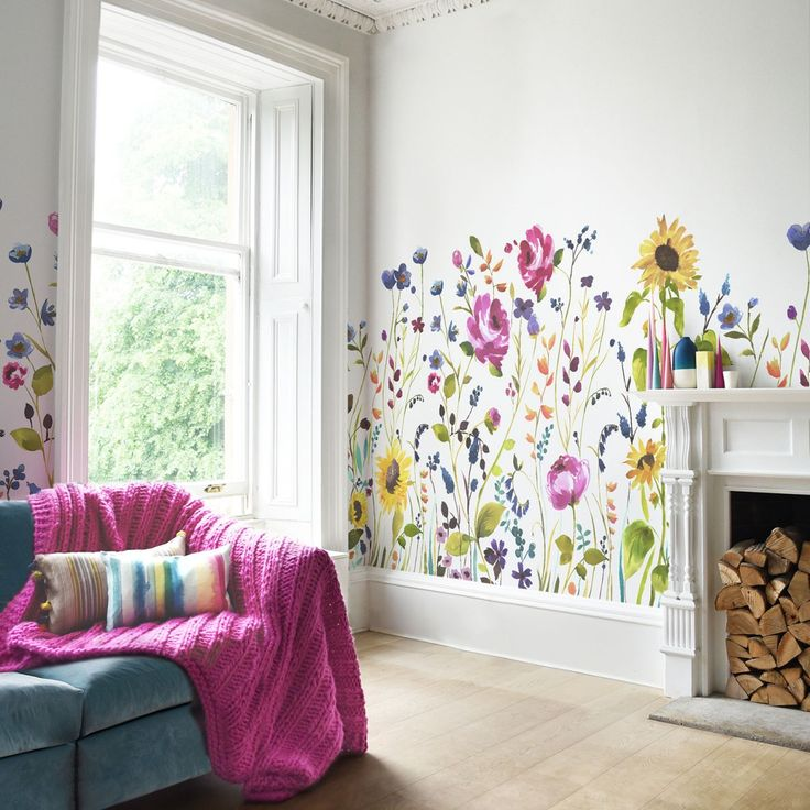 Anya: new mural-style wallpaper from bluebellgray. Beautiful! https://plus.google.com/collection/YwIBME