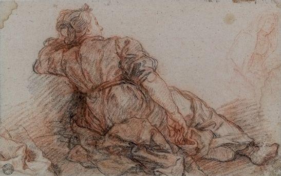 Charles de La Fosse (Paris, 15 juin 1636 - id., 13 décembre 1716) (peintre), France , avant 1707. HENNEZEL 767.a. Fonds ancien du musée d'Art et d'Industrie © Musée des Arts décoratifs de Lyon, Pierre Verrier