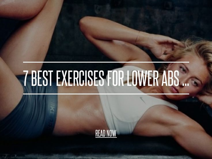 "7 Best Exercises for Lower Abs ... - Health [ more at http://health.allwomenstalk.com ] I'm ab-crazy, so I'm always on the lookout for something to add to my ""<strong>Best Exercises for Lower Abs</strong>"" list. Once they're on my list, I add them to my routine, and see how they work (or whine if they don't). If you're ab-crazy like me, keep reading! Here are my picks for the 7 <strong>best exercises for lower abs</strong>... enjoy!... #Health #Abs #Leg #Pushup #Raises #Lifts"