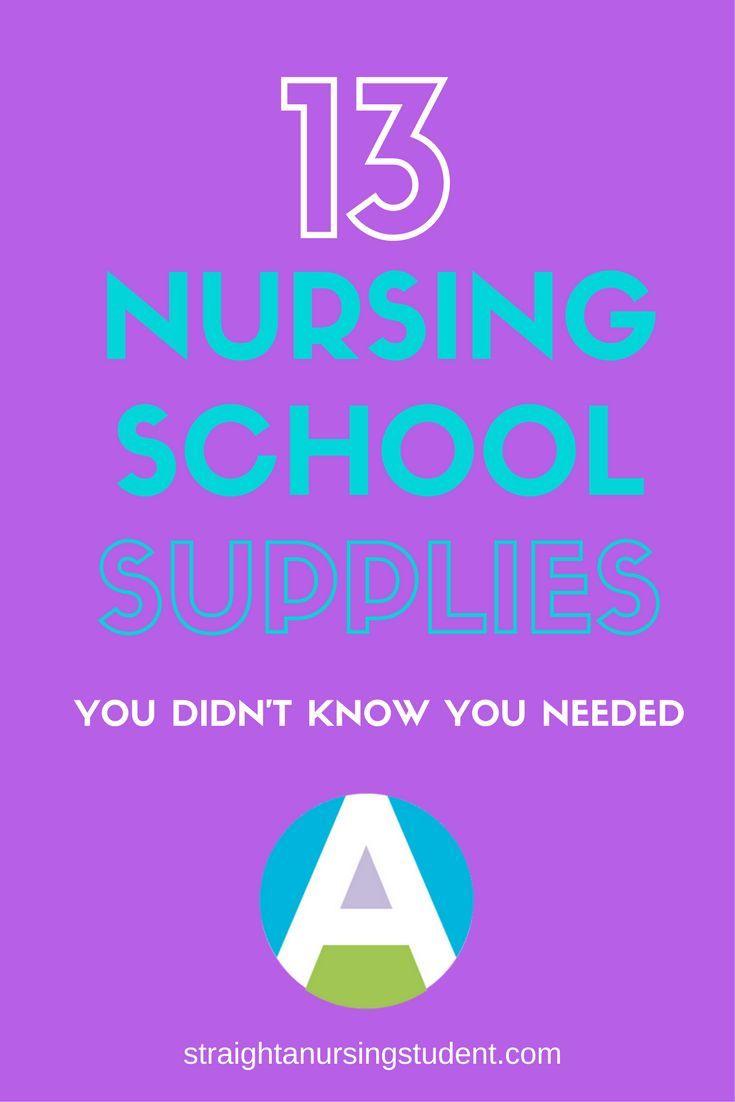 Nursing School Supplies You Never Knew You Needed Nursing School