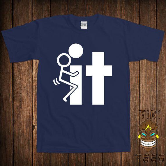 Funny Offensive T-shirt Rude Stick Figure Tee Shirt Tshirt ...