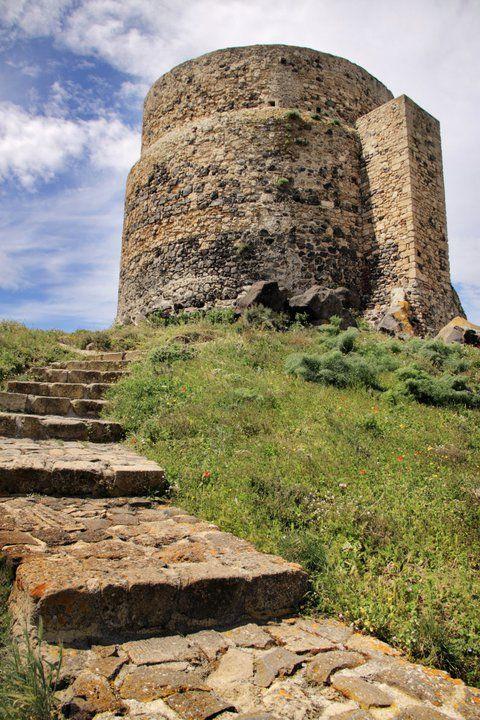 San Giovanni di Sinis e la torre di San Giovanni #sardinia #italy