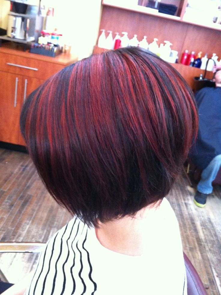 Red highlights. #magma
