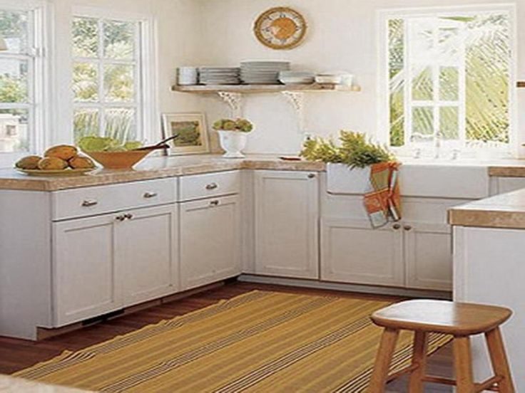 Marvelous Yellow Kitchen Area Rug