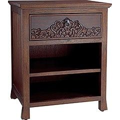 Pier One Imports Balinese Nightstand. I love this set but only bought one nightstand and need another...