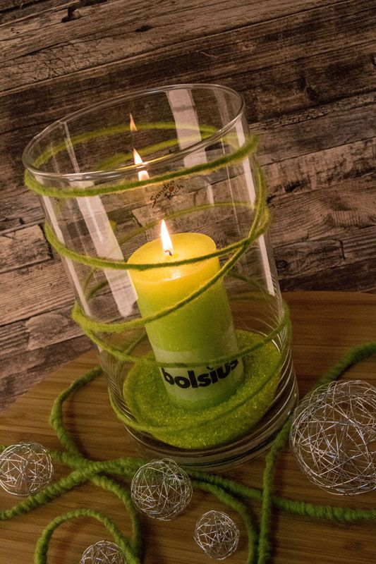 Kerzen, Drahtdeko, Spiegelsand, Vasen und mehr - findet ihr bei uns im Shop!