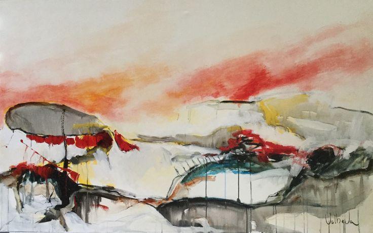 Uist landscape 160 x 100 cm
