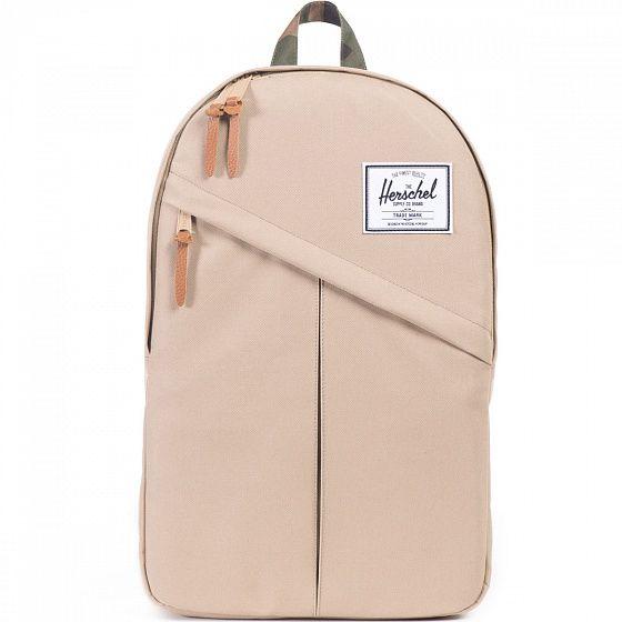 Вместительный городской рюкзак для повседневной носки. В этот рюкзак войдет все самое необходимое и благодаря средним размерам Herschel Parker не выглядит громоздко.
