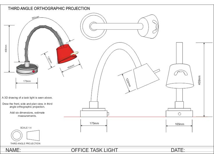 orthogonal projections lamp - Cerca con Google