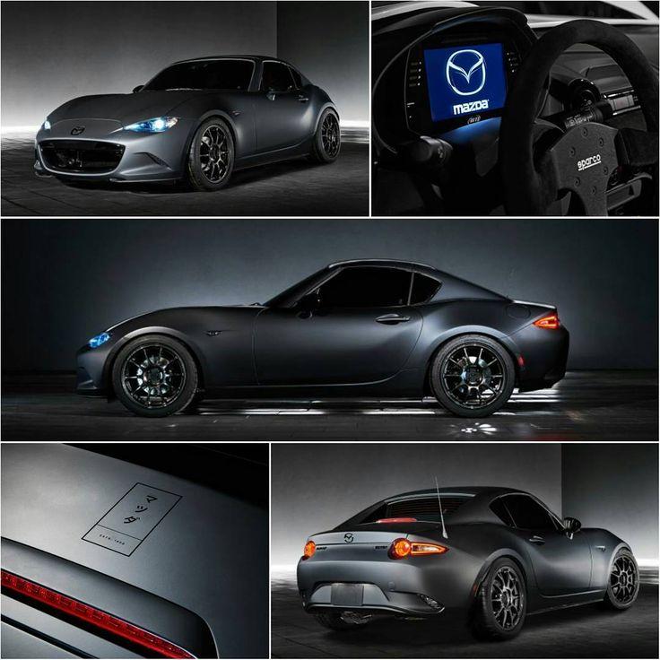 ✔ Stealth look & Cup car performance! ▶RF Kuro Concept at SEMA #TopMiata #sema2016  Built using parts available to purchase at MazdaMotorsports.com
