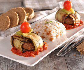 Veggy Köfte ile Vegan İslim Kebabı http://www.veggy.com.tr/tarifler/detay/islim-kebabi.html #vegan #veggy #veganreadymeal #vejetaryen #vegetarian #meatless