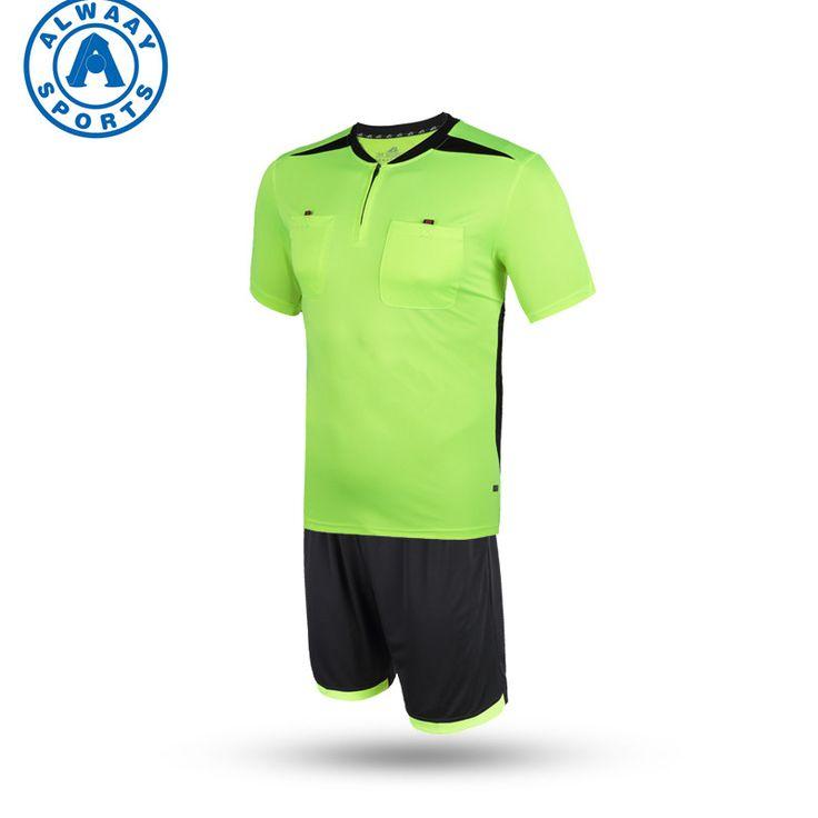 Dry fit soccer referee jersey for sportswear