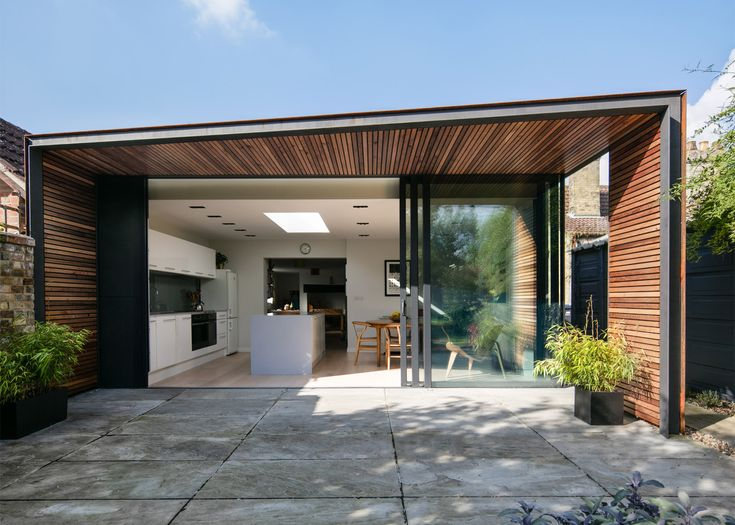 Architect And Visualiser Henry Goss Has Completed A Rusted Steel And  Timber Clad Extension To
