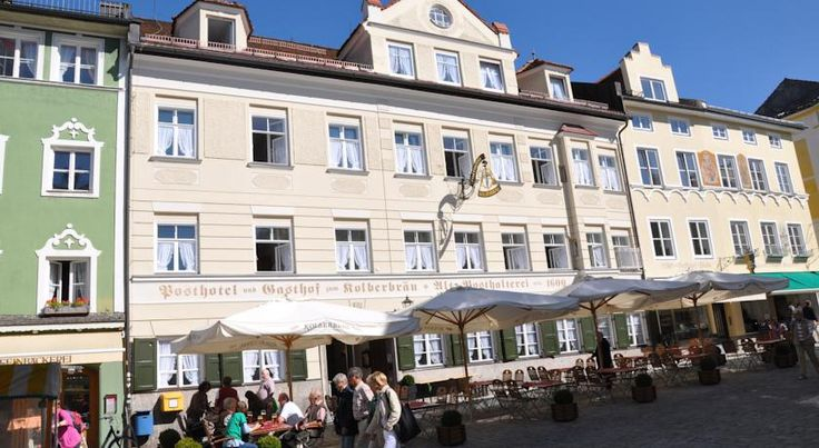 Posthotel Kolberbräu Bad Tölz The hotel is in the peaceful pedestrian area in the spa town of Bad Tölz's Old Town. It's beer garden faces the historic marketplace and it offers free Wi-Fi internet.