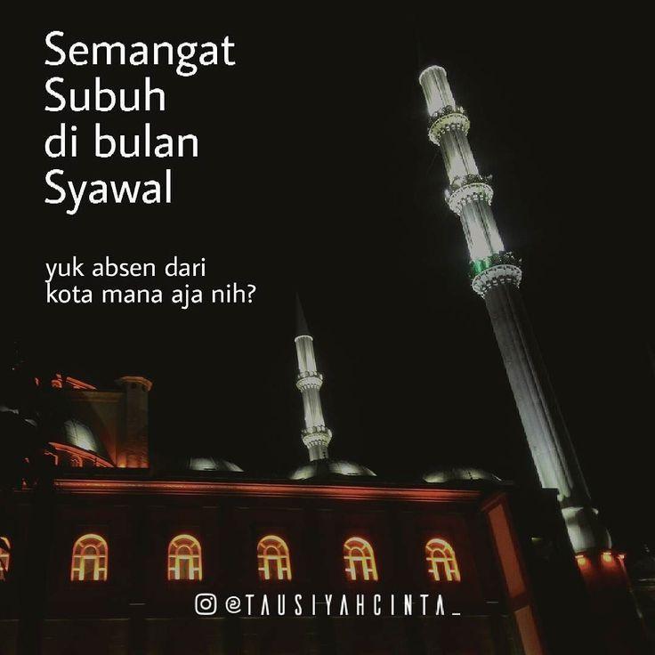 Semoga semangat Ramadhan tetap terjaga  Follow @hijrahcinta_ Follow @hijrahcinta_ Follow @hijrahcinta_ http://ift.tt/2f12zSN