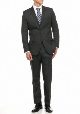 Greg Norman Collection Men's Modern-Fit Stretch 2-Piece Suit - Charcoal - 48 Regular