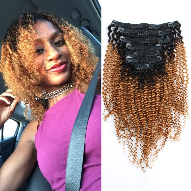 9 Best Natural Black Clip Hair Extensions For Beautiful Black Woman