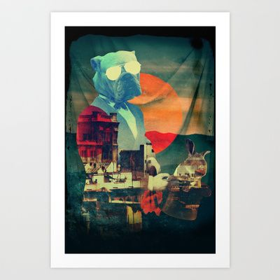 ABRACADABRA Art Print by Ali GULEC - $17.00