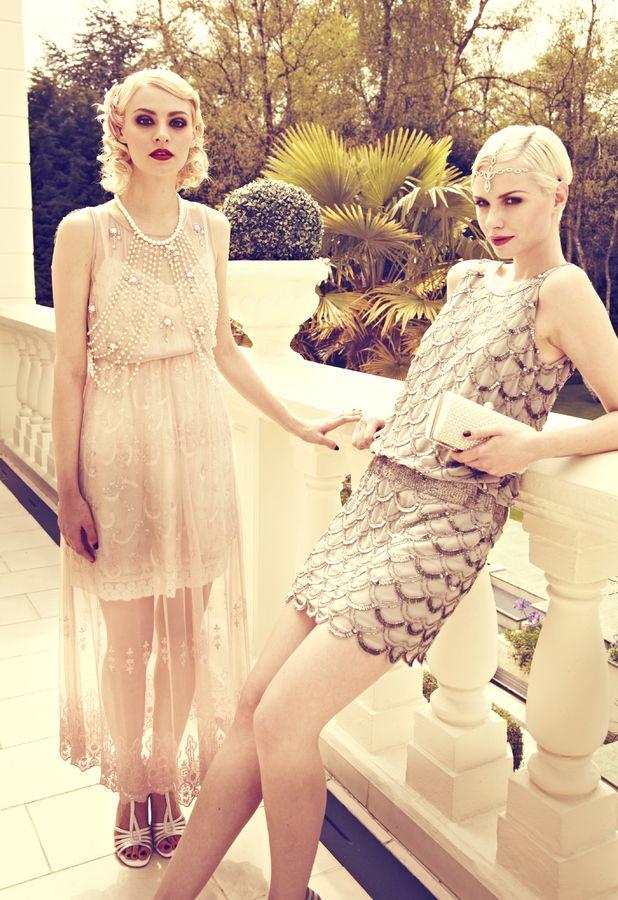 The Great Gatsby Vintage Fashion: Miss Selfridge, Freedshop, Boohoo, Frockandfrill, New Look