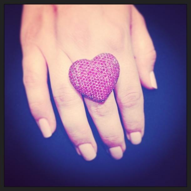Enamoraita del anillo... Jijiji pero no de su precio